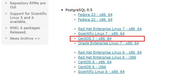 PostgreSQLダウンロード02